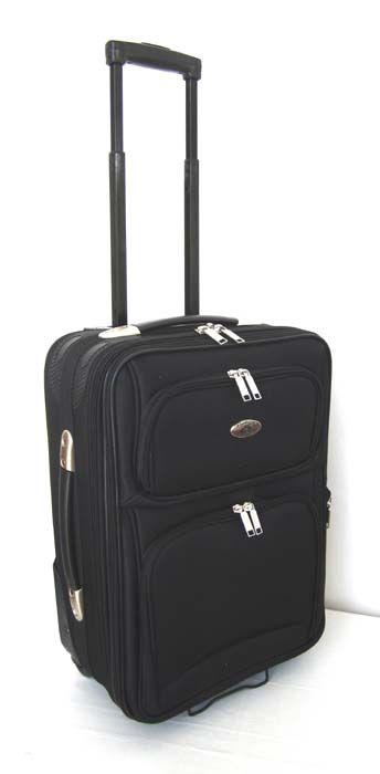 Piece Luggage Set Travel Bag Rolling Wheel Black