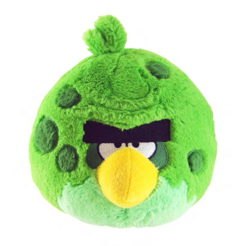 Angry Birds Space 5 Plush With Sound Set Of 6 *New*