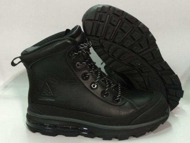 newest fb5a8 8714d Nike Air Max Conquer ACG Black Boots Mens Size 10