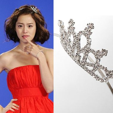 Korean Drama MY PRINCESS KIM TAE HEE Tiara Headband