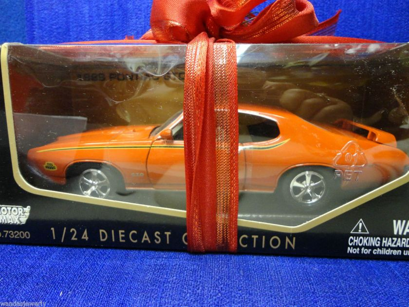 1969 PONTIAC GTO JUDGE DIE CAST MODEL CAR, SIZE 124