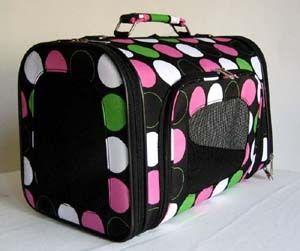 16 Pet Luggage/Carrier Dog/Cat Travel Bag Purse Pink